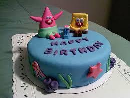 spongebob birthday cake happy birthday cake spongebob