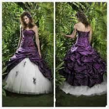 gothic wedding dresses black purple australia new featured