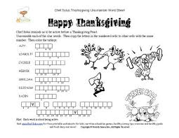 free printable thanksgiving unscramble happy thanksgiving