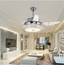 dining room ceiling fan crystal chandelier combo extraordinary