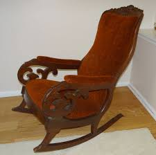 Upholstered Chair Sale Design Ideas Antique Upholstered Rocking Chair 15467