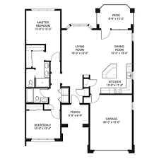 Two Bedroom House Plans by House Plans 1200 To 1400 Square Feet Bedroom 650 Sq Ft 1 Bed