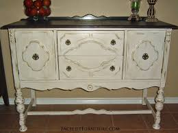 antique white buffet table antique white buffet antiqued white buffet with dark brown top white