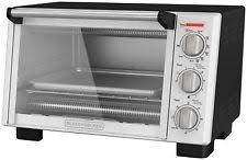 Black And Decker Stainless Toaster Oven Black And Decker Toaster Oven Ebay