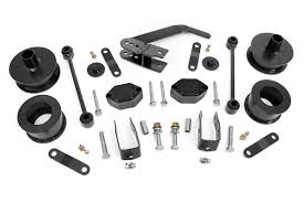 2 5in series ii suspension lift kit for 07 17 jeep jk wrangler