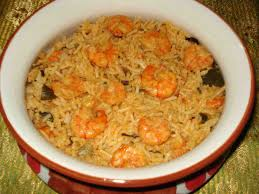 cuisine etc prawn biryani indian cuisine rice wheat oats cereals lentils
