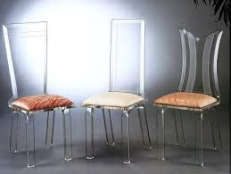 Acrylic Dining Chair More Acrylic Furniture Finds For A Sleek Style