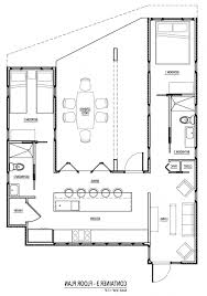 Container Houses Floor Plans by Download Free Shipping Container House Plans Zijiapin