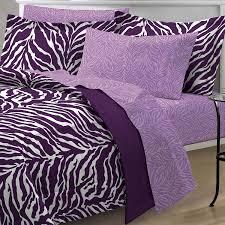 amazon com my room zebra purple ultra soft microfiber comforter