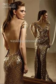 Help Sext Gold Sparkly Prom Formal Dress On The Hunt