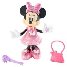 fisher price disney minnie mouse bloomin u0027 bows minnie doll target