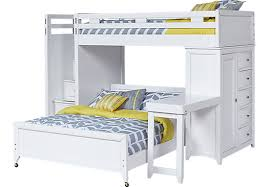 Beautiful White Bunk Beds With Desk Image For Twin Loft Inside - White bunk bed with desk