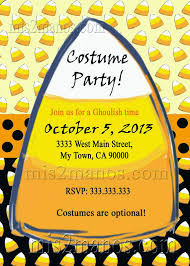 kids halloween party invitations with lemon themes and october 5