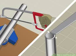 how to install flood lights how to install flood lights with pictures wikihow