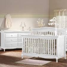 Convertible Crib Sets White Pali Mantova Collection 2 Nursery Set In White Crib And
