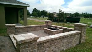 Paver Patio With Retaining Wall by Retaining Walls U0026 Seat Walls Outdoor Kitchens Paver Patios