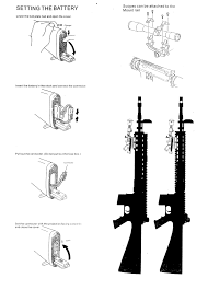 free download manual for dboy m16 aeg instruction user manual