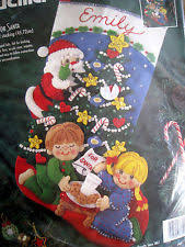 bucilla felt kit cookies for santa 83391 ebay