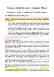 dispense giurisprudenza dispensa diritto penale 1 parte generale manuale fiandaca musco