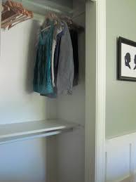 Shelf With Clothes Rod Closet Case