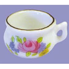 pot de chambre de la pot de chambre en porcelaine