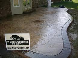Sted Concrete Patio Designs Decorative Concrete Cincinnati Best Interior 2018
