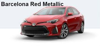 2017 toyota corolla exterior paint color options and interior fabrics