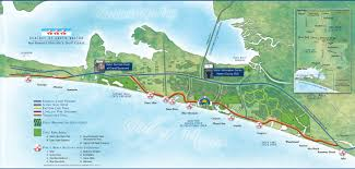 Panhandle Florida Map by Long Term Beach Rentals Seaside Fl Dolphin Developers