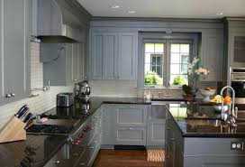 gray cabinets with black countertops gray kitchen cabinets with black countertops home design ideas