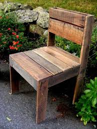 How To Build Wooden Outside Chairs by Diy Pallet Outdoor Armless Chair Pallet Furniture Diy U2026 Pinteres U2026