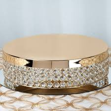 metal cake stand fancy beaded metal riser cake stand gold 13 5 diameter