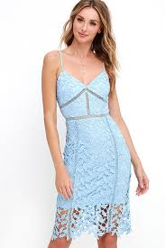 blue lace dress light blue dress lace dress midi dress 58 00