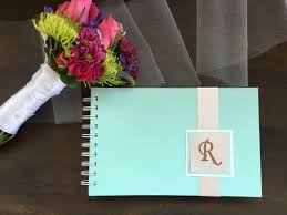 handmade personalized gifts handmade personalized wedding guest book seafoam