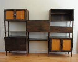 mid century modern shelving unit shelves ideas