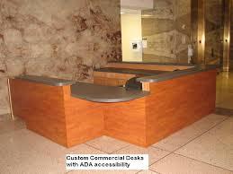 Ada Compliant Reception Desk Austin Commercial Cabinets