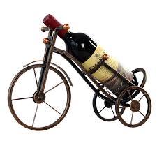 vintage european style metal tricycle ornaments display wine