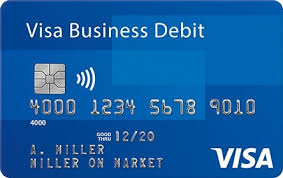 debit card for small business cards visa