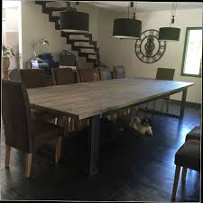 Table Repas Style Industriel by Fabriquer Une Table Basse Style Industriel U2013 Phaichi Com