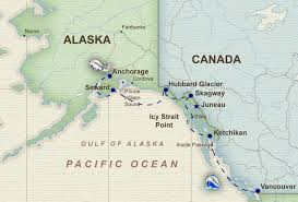 Alaska Route Map by Alaska Cruise U2013 Fun For Less Tours