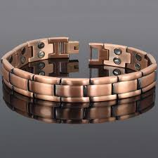 magnetic bracelet stainless images Copper clad stainless steel magnetic bracelet double row magnets jpg