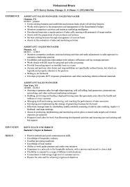 assistant manager resume assistant sales manager resume sles velvet