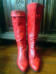 s boots cowboy vintage 80 s leather and suede boots s eu 39