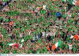best fans in the world irish fans voted best fans in the world ireland