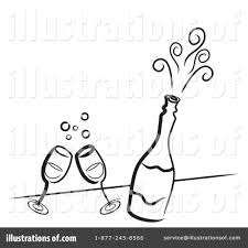 champagne toast cartoon champagne clipart 45429 illustration by ta images