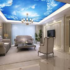 3d Wallpaper Interior 27 Ceiling Wallpaper Design And Ideas Inspirationseek Com