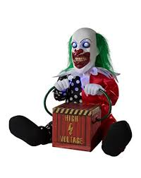 spirit halloween 13 inch zappy the clown animatronics