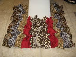 enchanting 10 brown and cream zebra print bathroom accessories