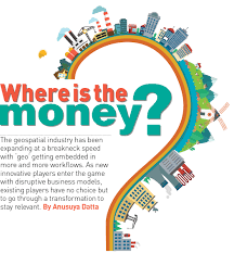 where is the money in geospatial industry