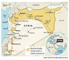 syria on map here s where syria is located on a map in you didn t
