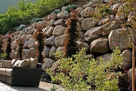 Garden Rock Wall by Rock Walls U0026 Rock Gardens Reinheit Landscaping And Maintenance